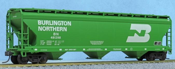 Accurail ACF Center Flow CF-4600 3-bay covered hopper