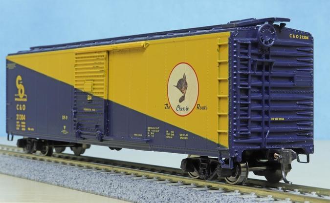C&O Cameo car boxcar by Athearn or Bev-Bel