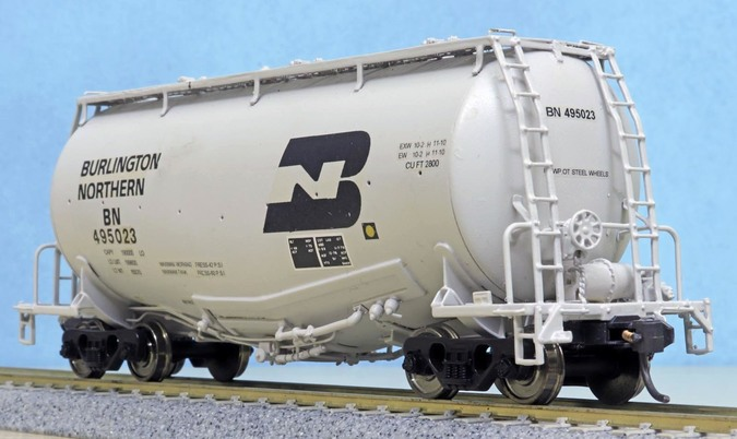 Whale Belly Cement Hopper HO model
